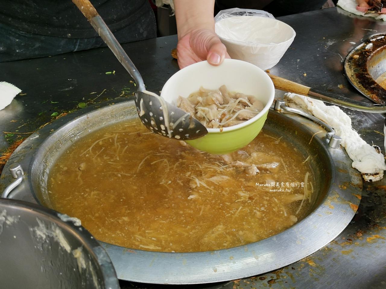 【台北】東門赤肉羹/市場內40年老店滿滿赤肉羹湯老饕這樣點/捷運東門站中式小吃 @Maruko與美食有個約會