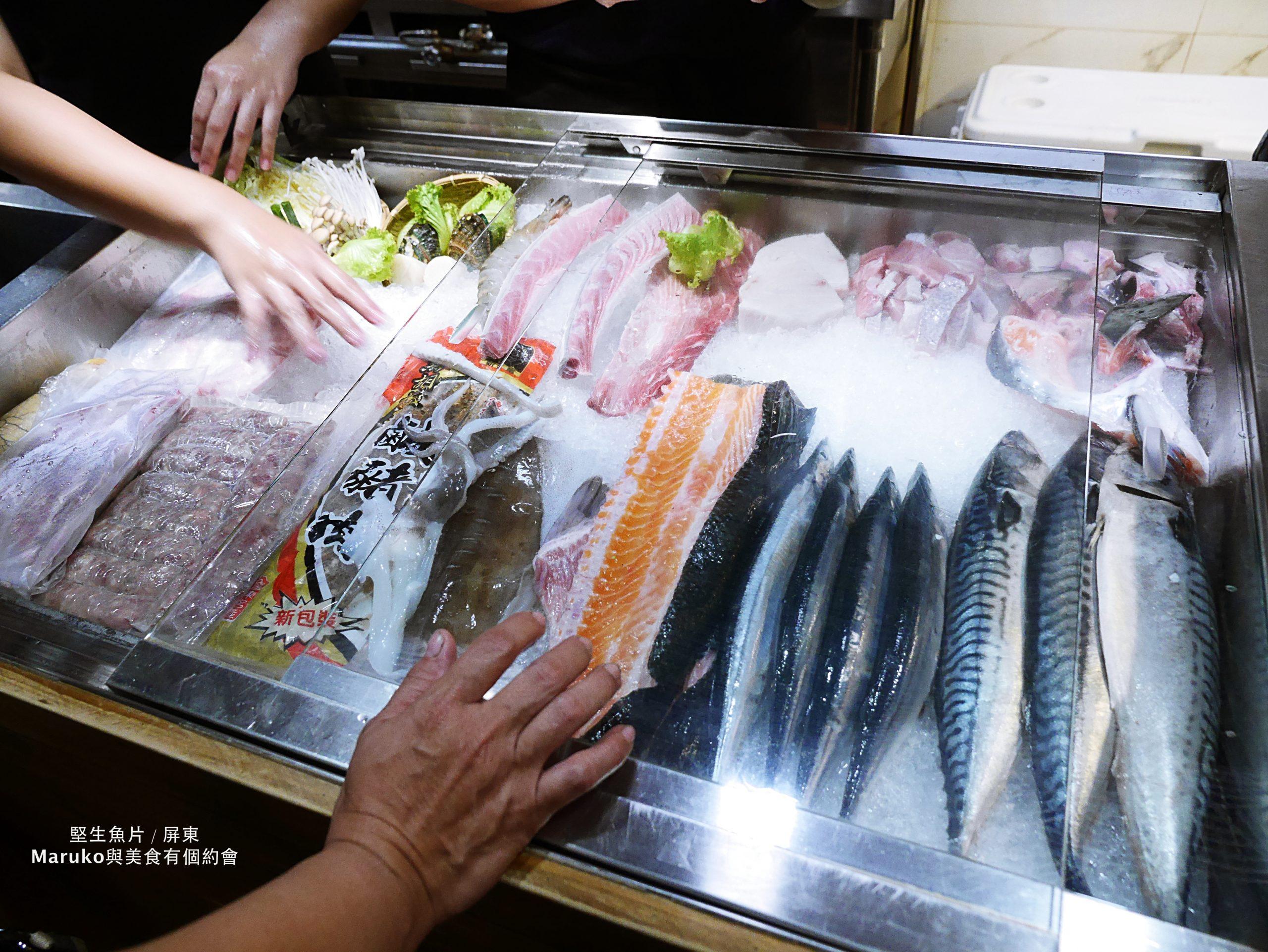 【屏東美食】堅生魚片-現切超厚生魚片無菜單燒烤料理