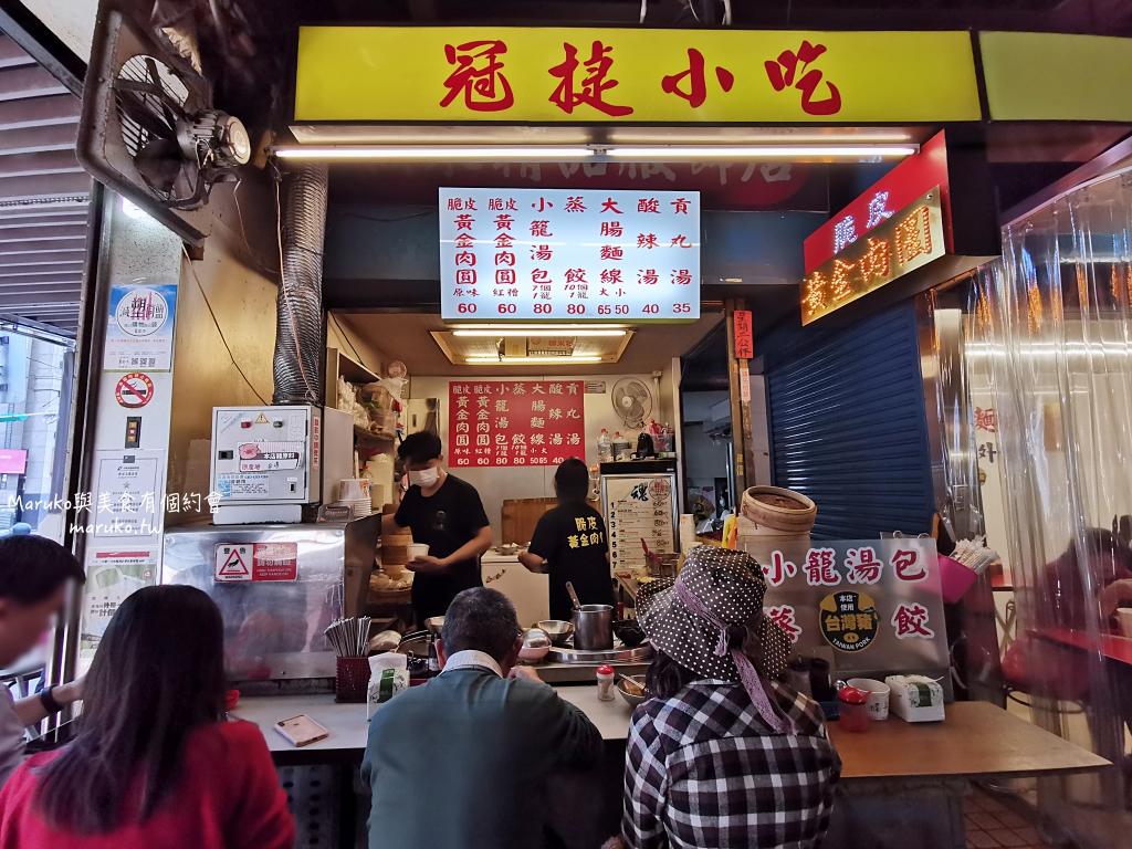 【台北美食】冠捷脆皮黃金肉圓|松山市場內炸的超級酥脆的脆皮肉圓 @Maruko與美食有個約會