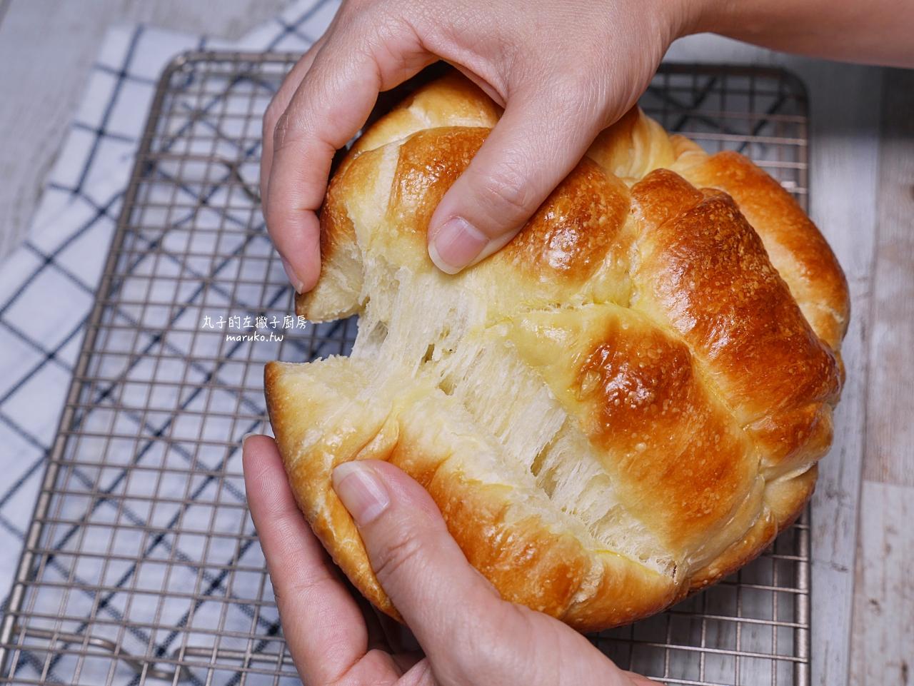 【食譜】熱狗麵包|免揉橄欖狀熱狗麵包鬆軟口感做法 @Maruko與美食有個約會