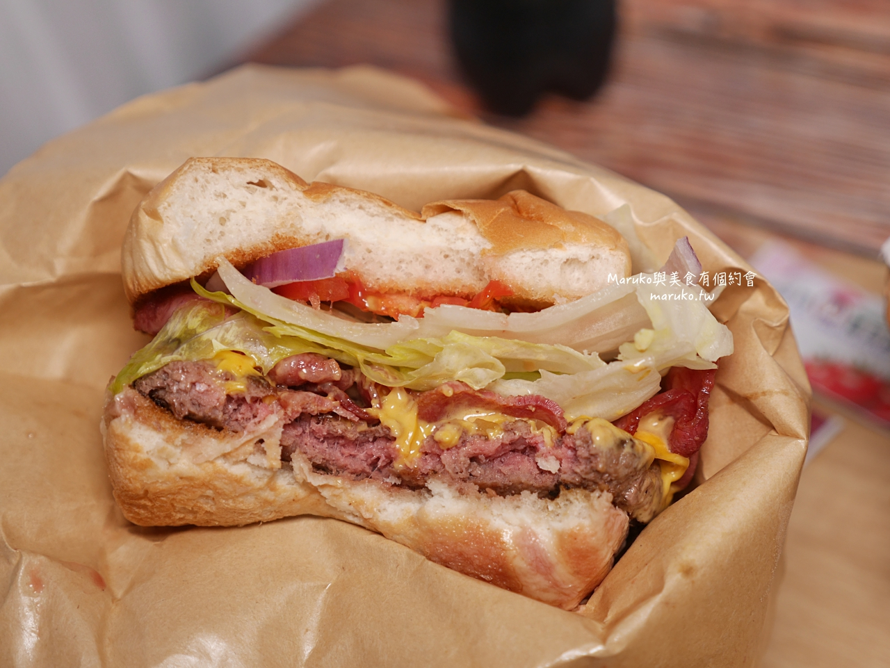 【台北】水牛城美式炭烤牛排餐廳 服務超好附餐有水準的大分量牛排餐廳 @Maruko與美食有個約會