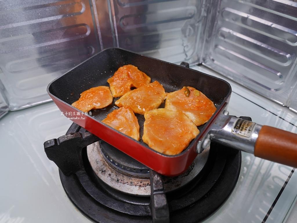 【食譜】三種熱壓三明治,方型熱壓吐司烤盤運用,小V鬆餅機做法 @Maruko與美食有個約會