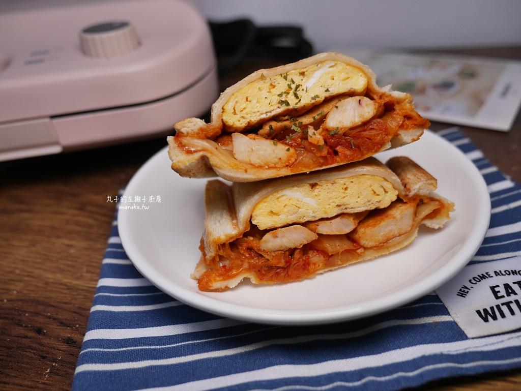 【食譜】三種熱壓三明治,方型熱壓吐司烤盤運用,小V鬆餅機做法