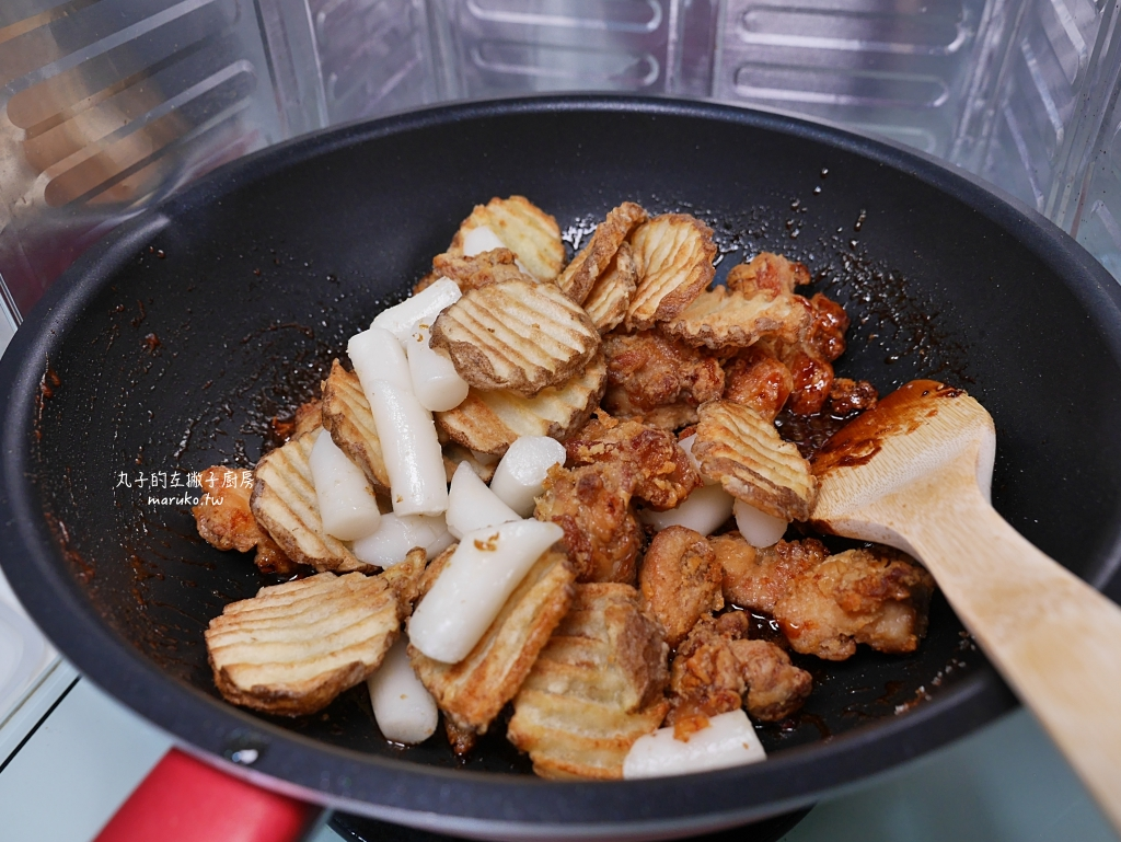 【食譜】奶油蜂蜜炸雞|不辣的韓式炸雞做法,氣炸鍋食譜 @Maruko與美食有個約會