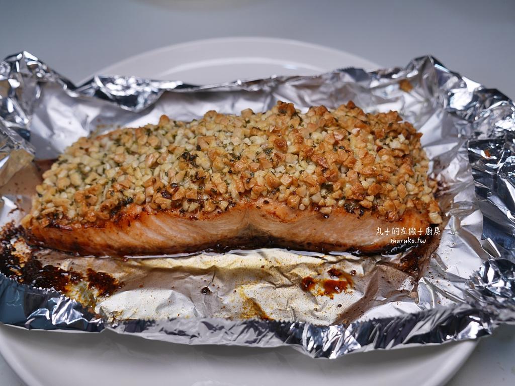 【食譜】杏仁鮭魚菲力|香酥氣炸鍋食譜輕鬆上菜 @Maruko與美食有個約會