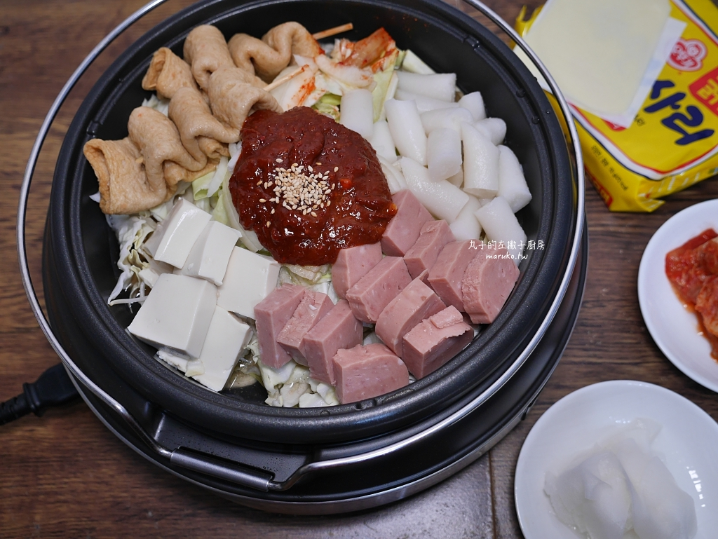 【食譜】韓式部隊火鍋|熱熱的吃韓國辣湯鍋做法