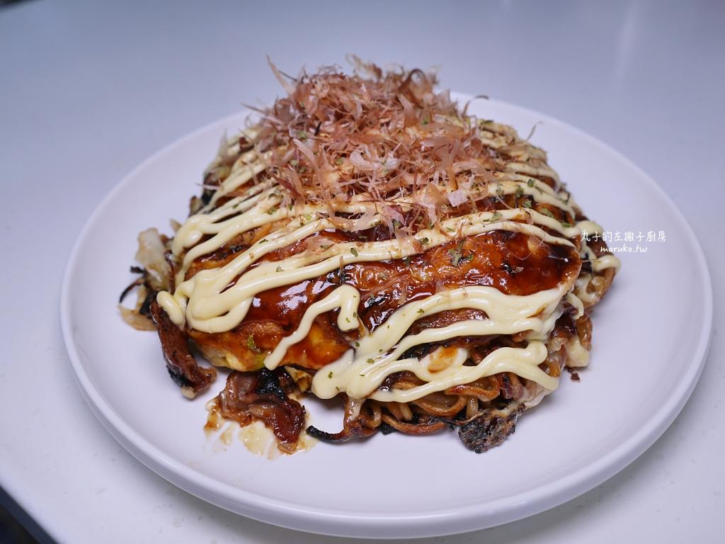 【食譜】日式摩登燒|加了炒麵的大阪燒更有滿足感