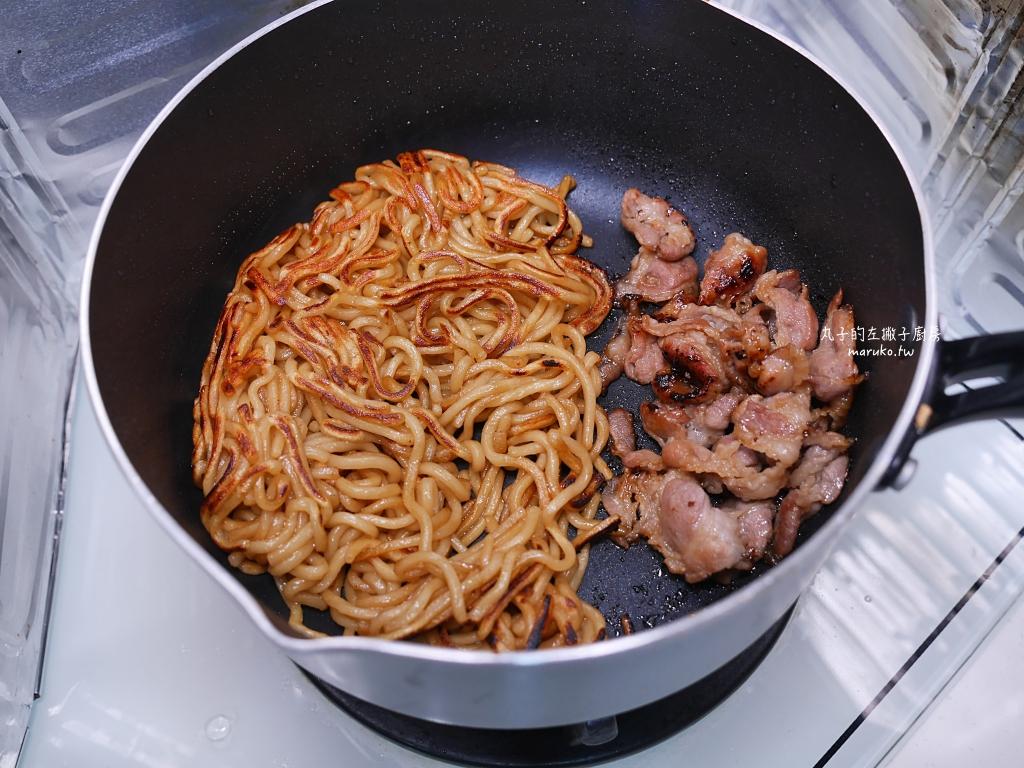 【食譜】日式摩登燒|加了炒麵的大阪燒更有滿足感 @Maruko與美食有個約會