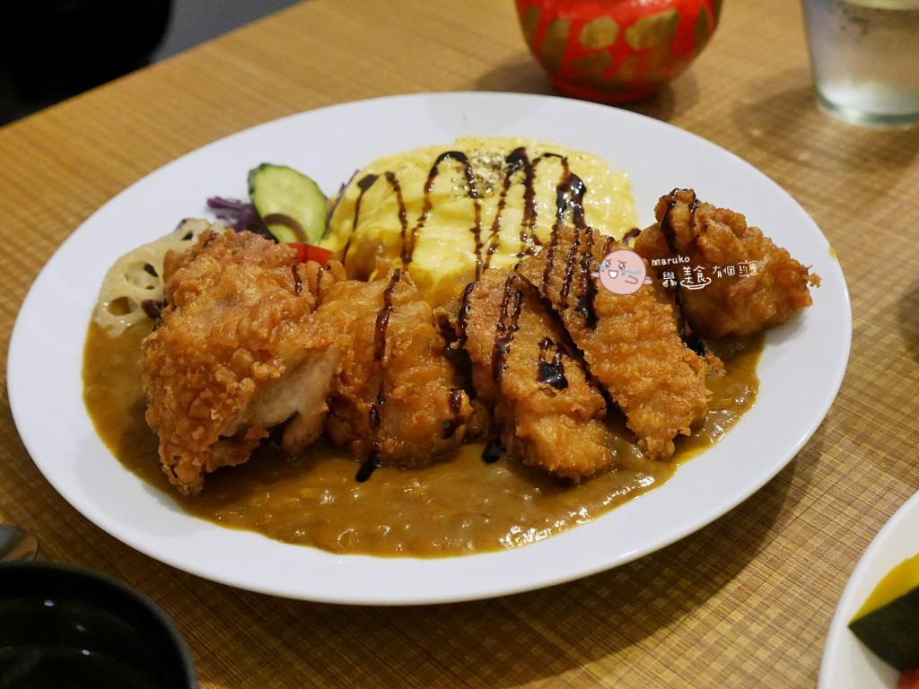 【台北】東京廚房|大分量日式咖哩歐姆蛋包飯,捷運中山站週邊 @Maruko與美食有個約會