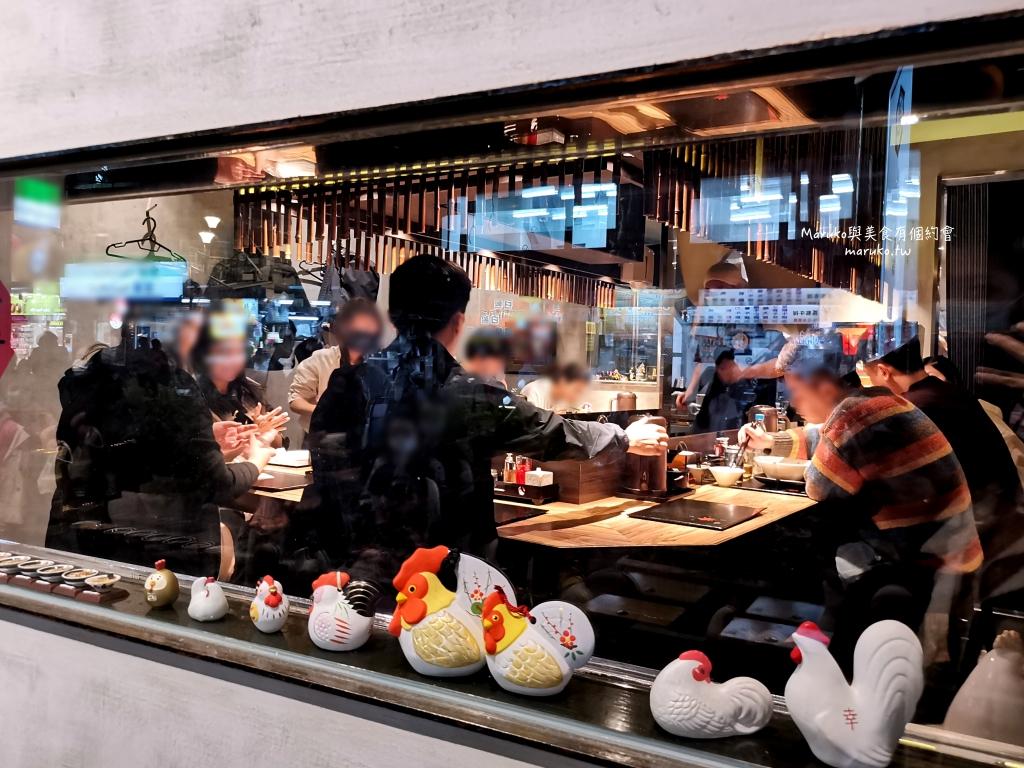 【台北】鶏そば本舗-梓山拉麵|隱藏在夜市內鷹流系雞白湯拉麵只要99元 @Maruko與美食有個約會