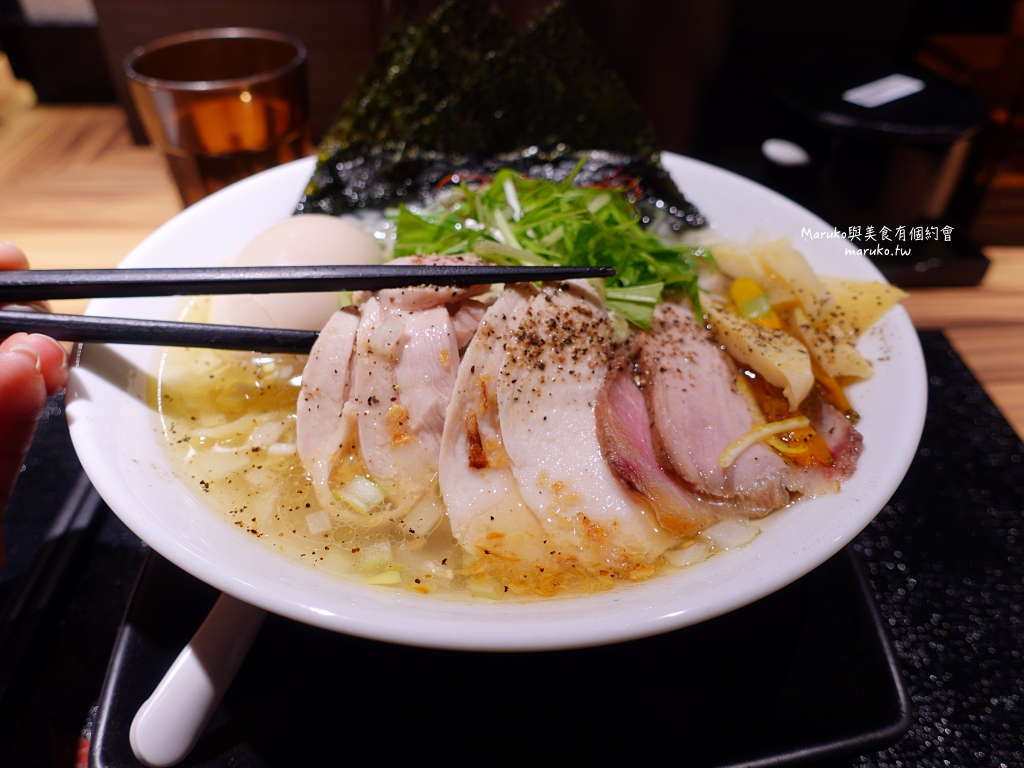 【台北】鶏そば本舗-梓山拉麵 隱藏在夜市內鷹流系雞白湯拉麵只要99元 @Maruko與美食有個約會