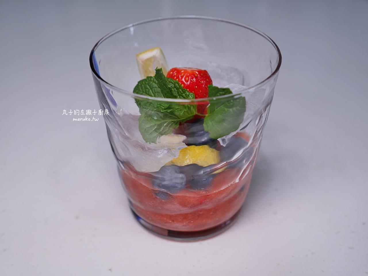 【食譜】草莓氣泡飲|夏天的純天然草莓果醬清涼飲品簡易做法 @Maruko與美食有個約會