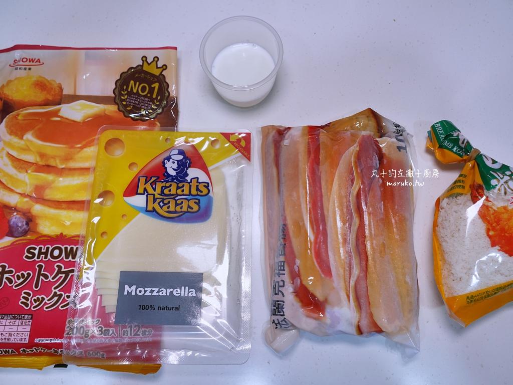 【食譜】韓國起司熱狗 二種食材做會牽絲的韓國起司熱狗 @Maruko與美食有個約會