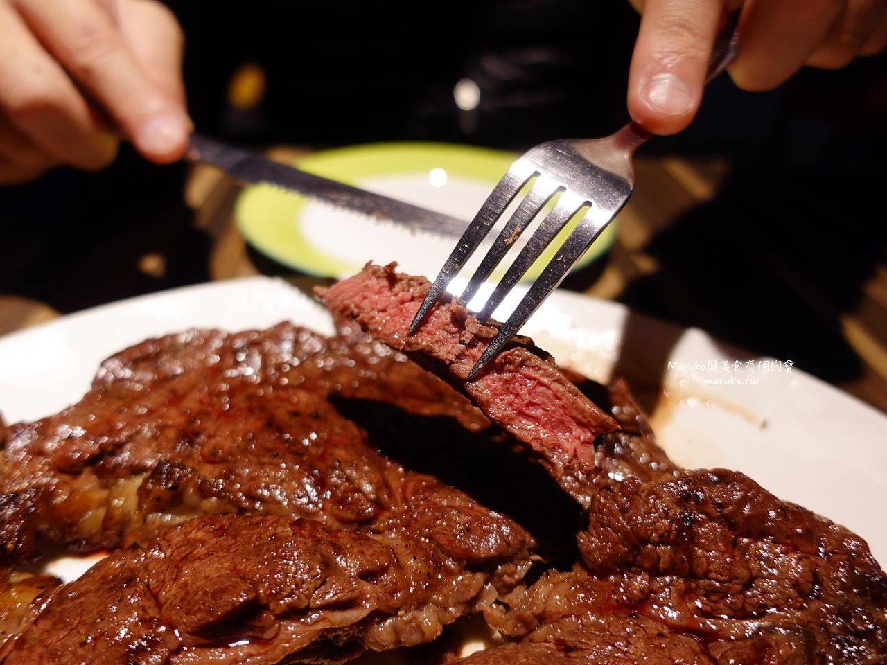 【景美】TNT 美式炭烤牛排/大分量 Prime等級美國安格斯黑牛只要220元起/景美站牛排館 @Maruko與美食有個約會
