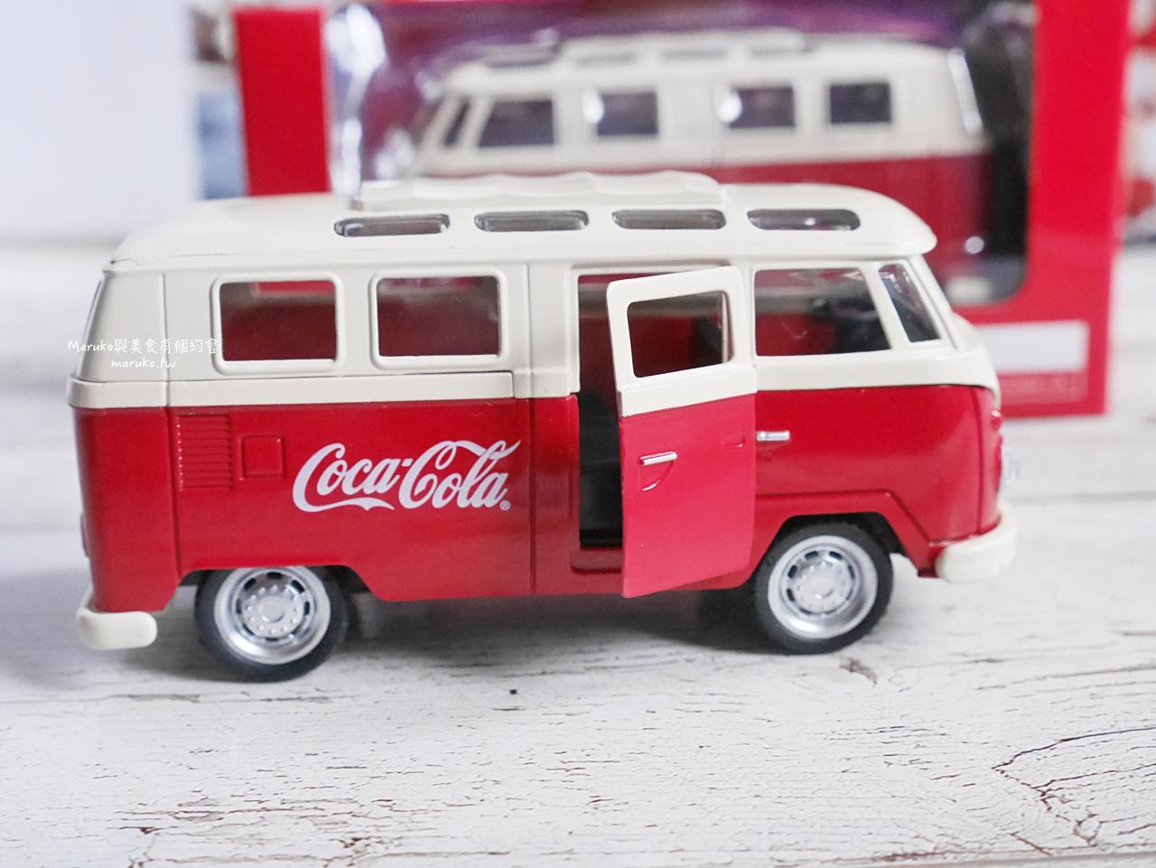 【全家便利商店】超可愛!麵包車款可樂模型車/可口可樂限量經典模型車加購只要99元 @Maruko與美食有個約會