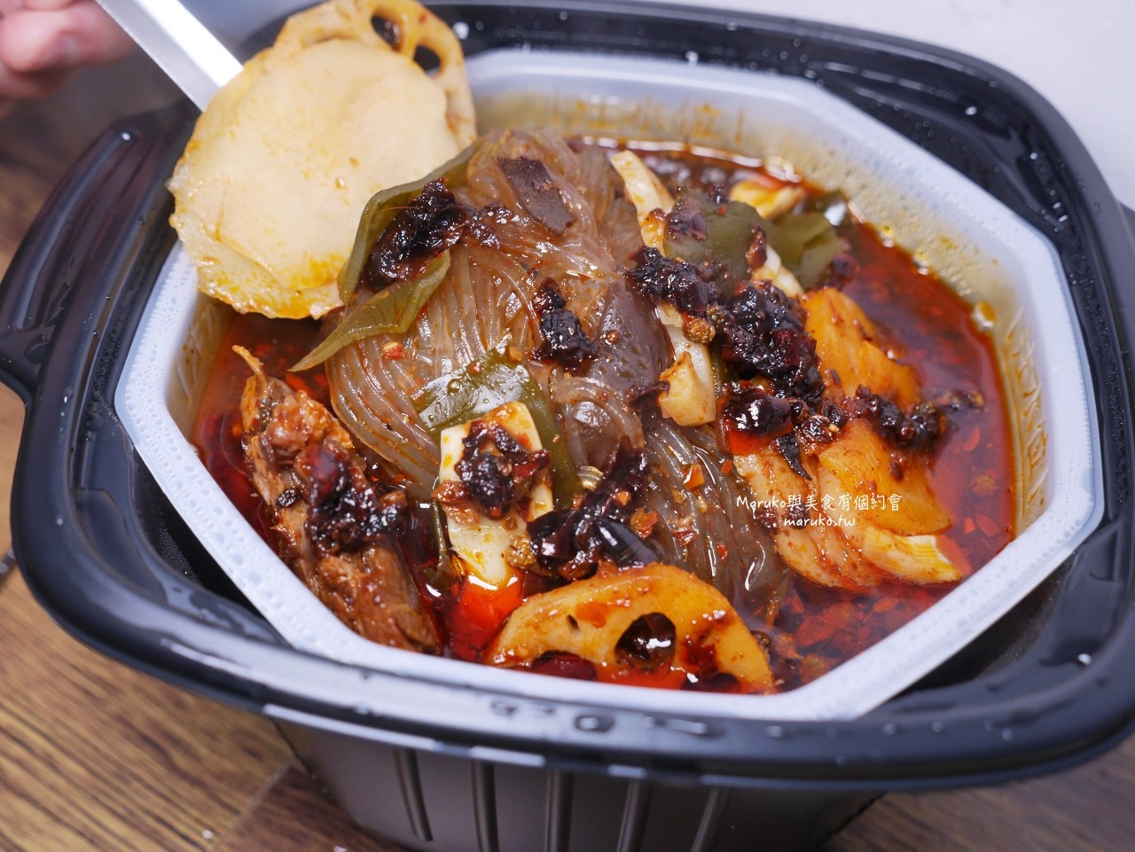 【海底撈】麻辣清油鍋底/麻辣嫩牛自煮火鍋套餐/免訂位在家煮/料理包簡單開鍋 @Maruko與美食有個約會