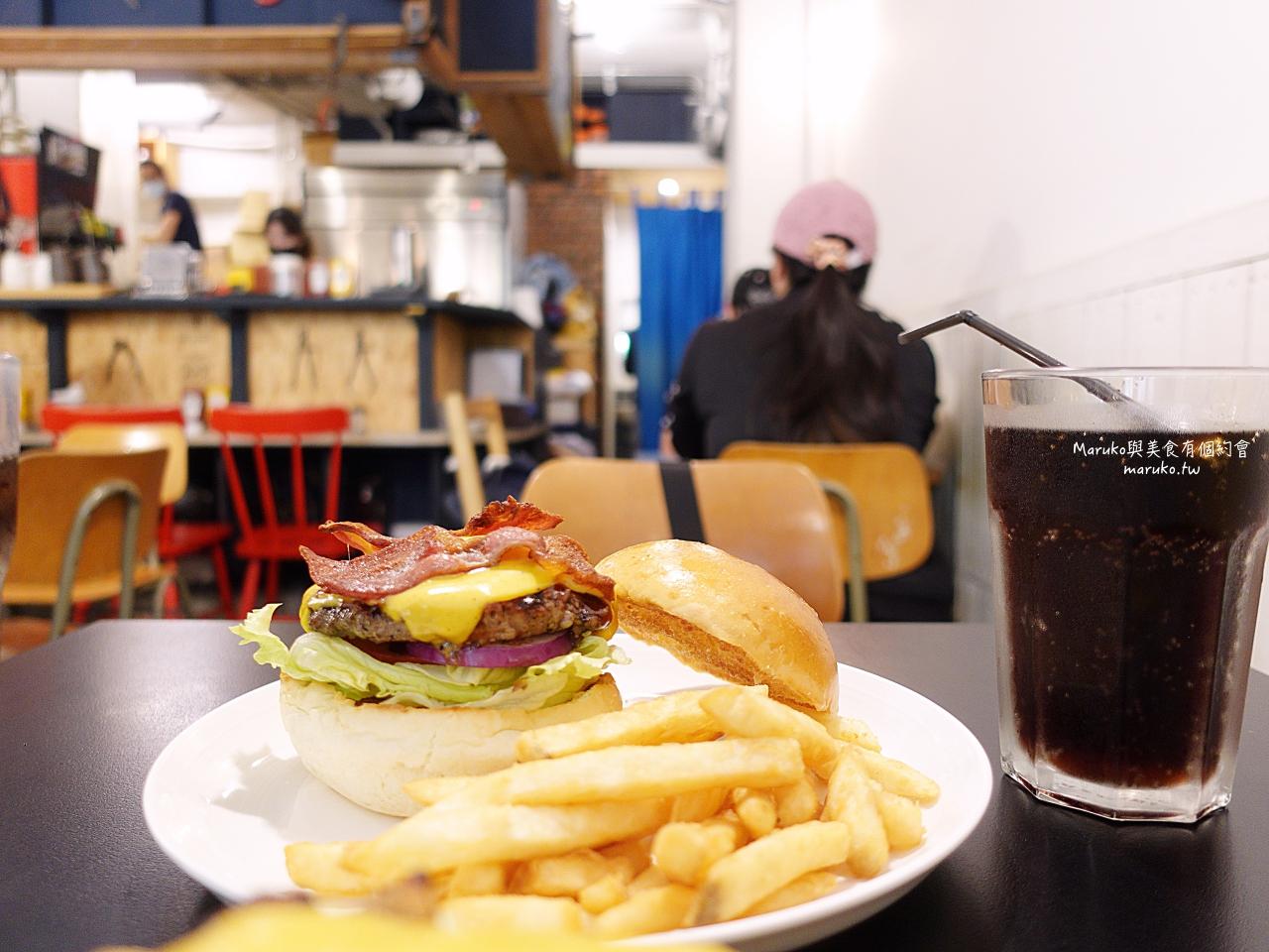 【福岡美食】meat land 肉嵐土(天神PARCO本館)|漢堡排買一送二套餐白飯湯小菜無限享用 @Maruko與美食有個約會
