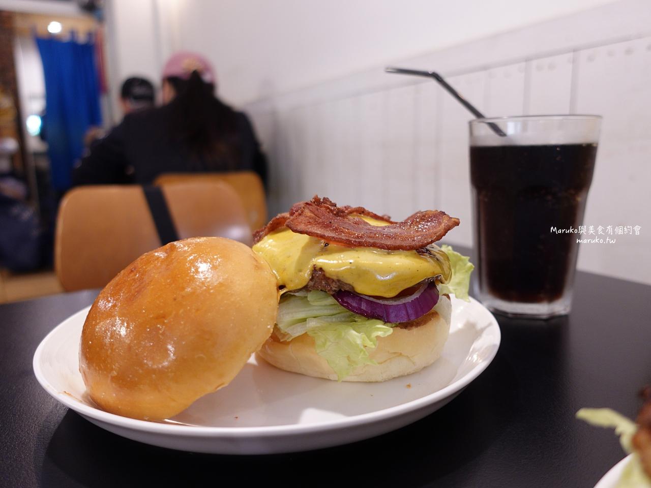【台北】AWESOME BURGER 澳森漢堡/隱藏巷內迷你小店老饕都愛的漢堡/平價實在值得再訪/市政府站美式漢堡 @Maruko與美食有個約會