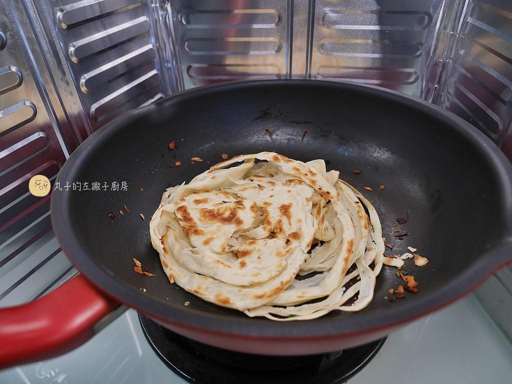【食譜】蔥抓餅/自製麵皮油酥/花式捲法讓餅皮更酥脆有層次做法 @Maruko與美食有個約會