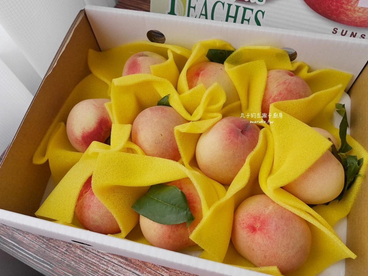 【食譜】水蜜桃三明治 不加鮮奶油做法 產地直送 梨山水蜜桃 無毒農友善環境的安心水果推薦 @Maruko與美食有個約會