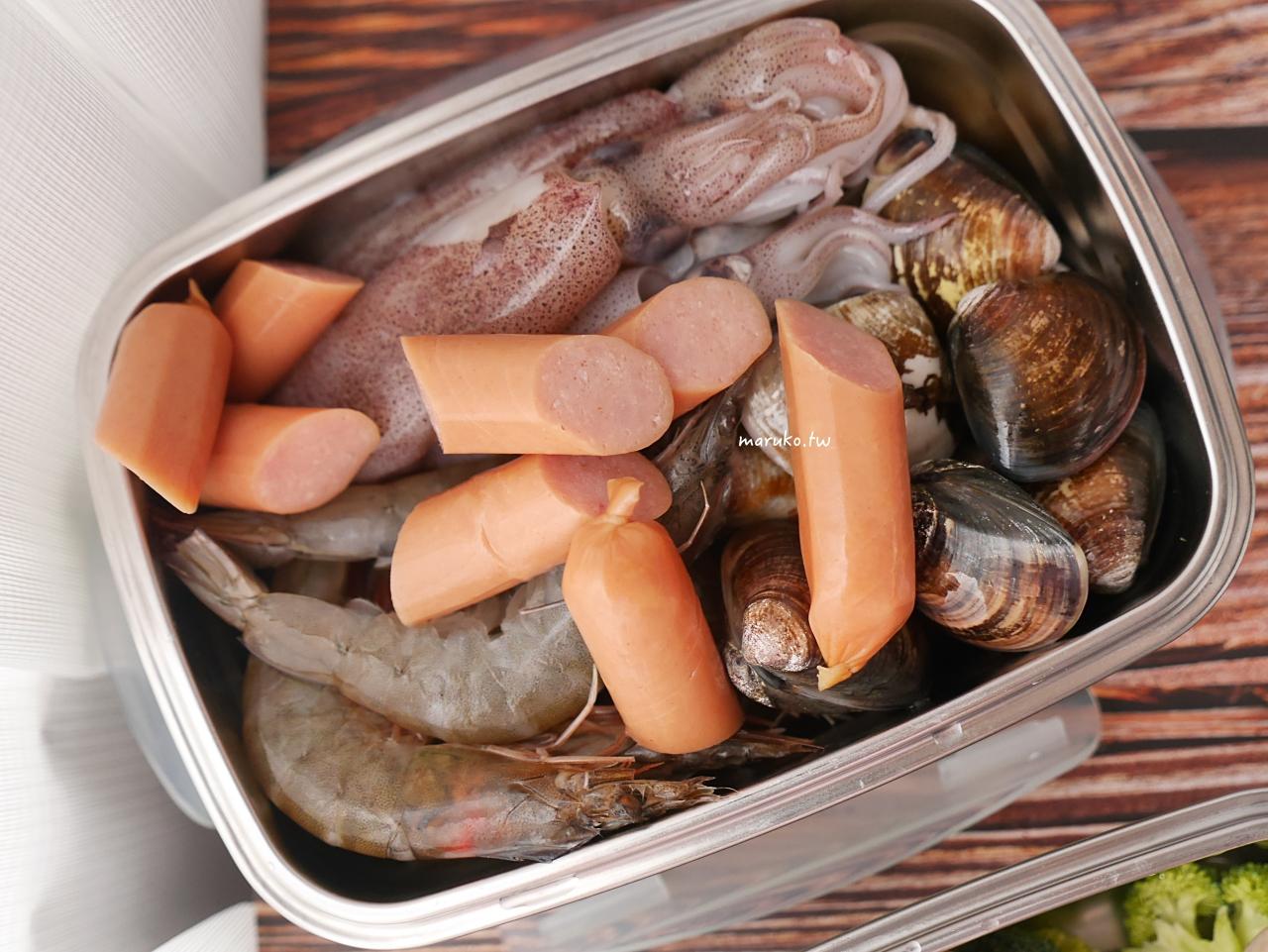 【食譜】手抓海鮮 美國南方港口特色料理 用蒸的醬料拌一拌入味 美膳雅蒸鮮鍋6L推薦 @Maruko與美食有個約會