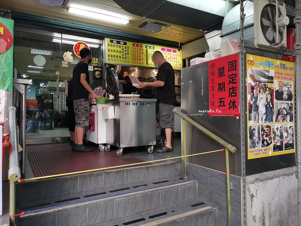 【台北】金銘雞腿魯肉飯 萬華在地隱藏版人氣便當 用中藥滷的黑雞腿 @Maruko與美食有個約會