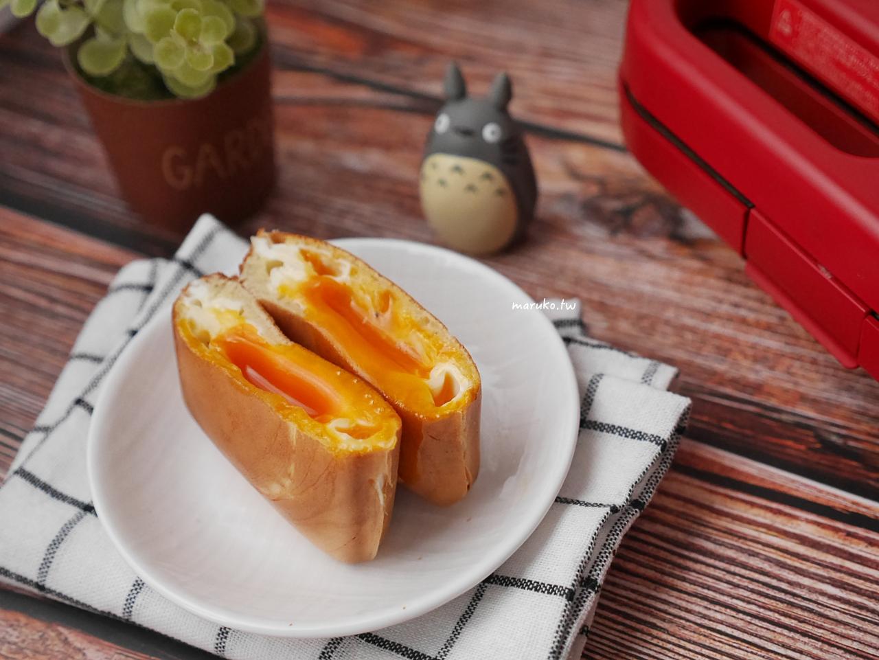 【食譜】爆漿雞蛋燒 韓國街邊小吃 方型烤盤 Vitantonio 鬆餅機食譜 @Maruko與美食有個約會