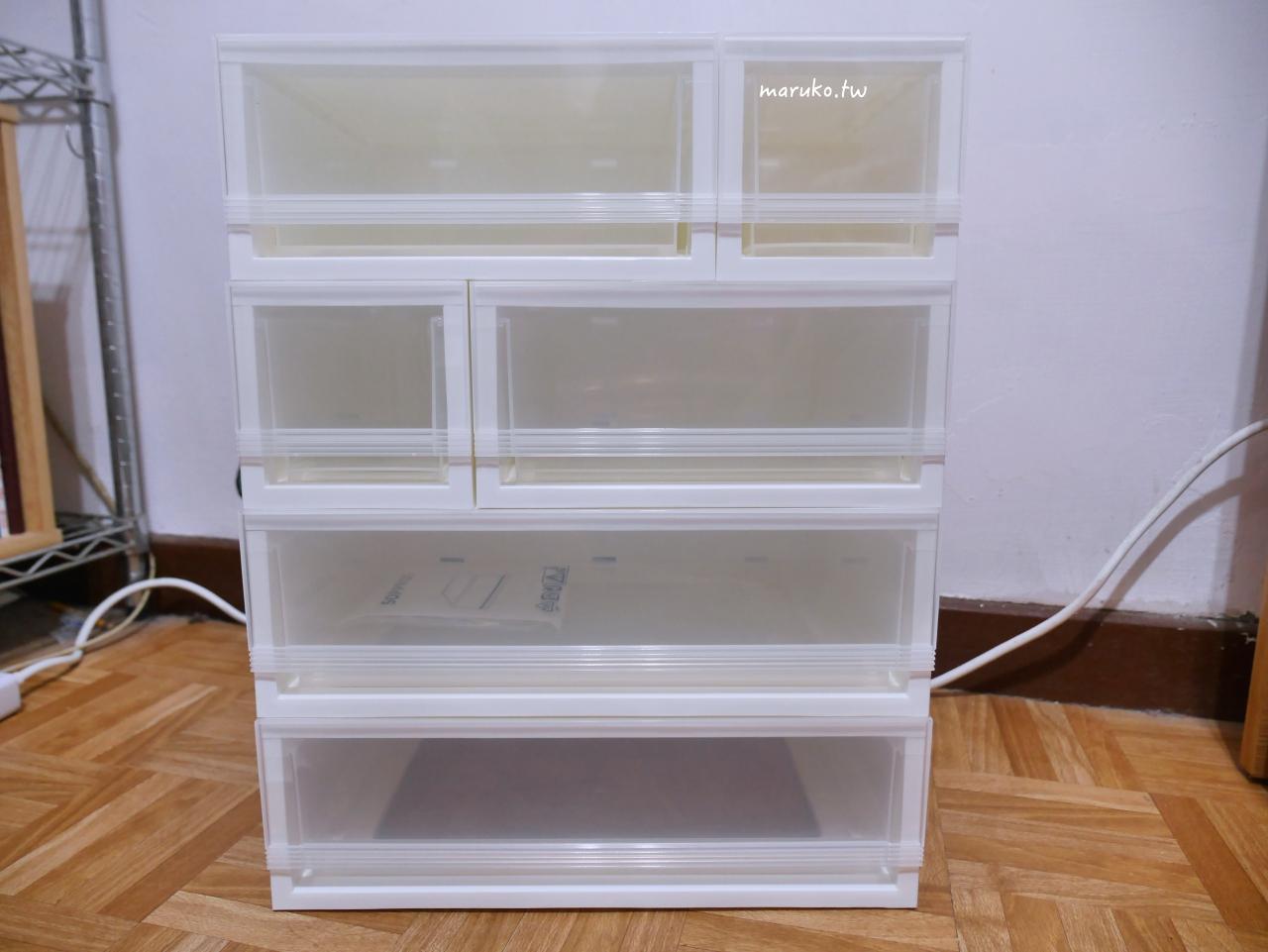【台北】IKEA 宜家家居 sopprot 組合式抽屜盒 居家收納分享 @Maruko與美食有個約會