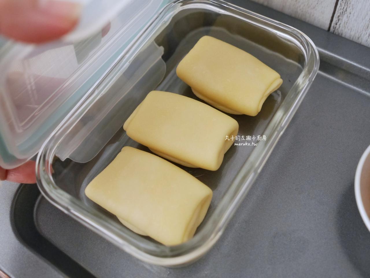 【食譜】肉鬆蛋黃酥 用無鹽奶油做家庭版蛋黃酥 冠軍麵包師傅指定用丹麥奶油 @Maruko與美食有個約會