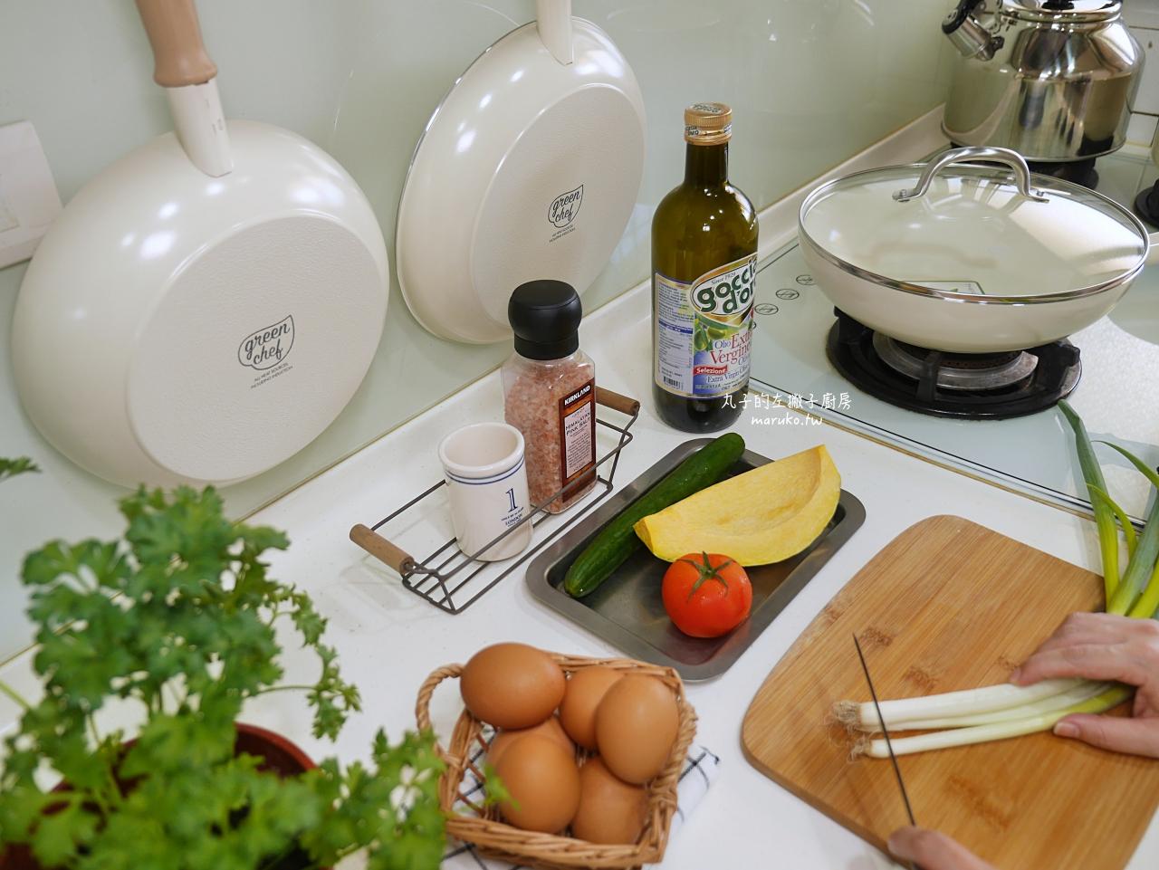【食譜】三道韓式料理平底鍋食譜 GreenPan 來自比利時健康陶瓷不沾鍋-東京木紋系列推薦 @Maruko與美食有個約會