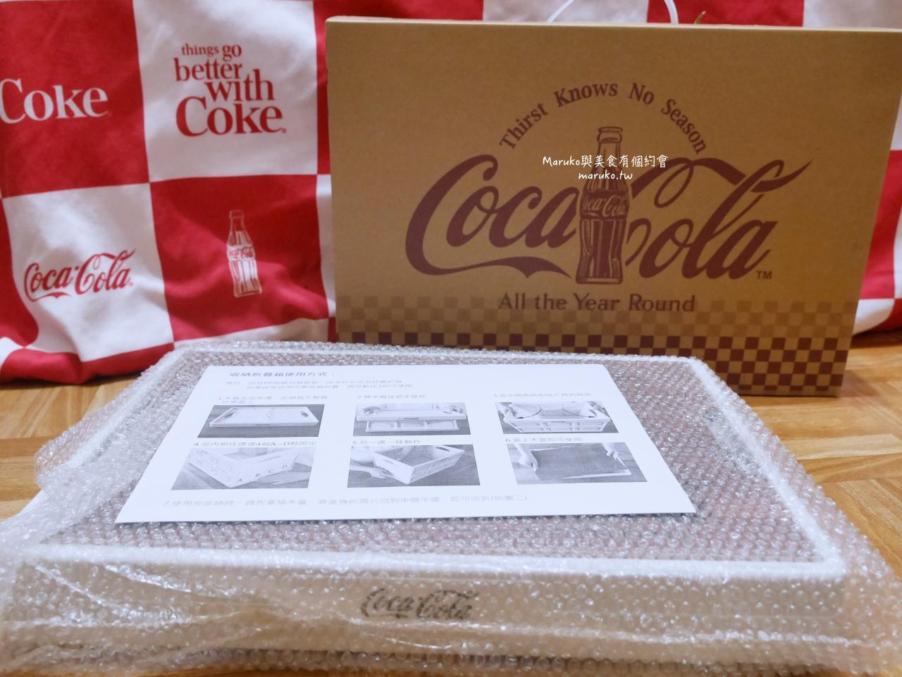【OK便利商店】可口可樂摺疊收納箱 購買可口可樂系列換購 限量推出 @Maruko與美食有個約會