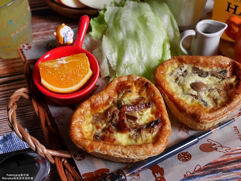 【台北美食】Funnypig番尼豬|結合台灣在地新鮮食材的法式手工愛心派 @Maruko與美食有個約會