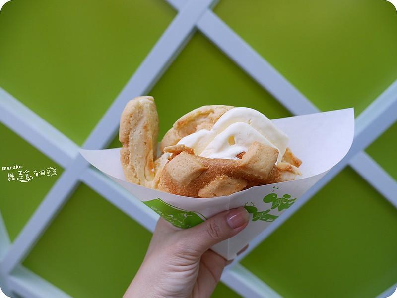 【台北信義】世界第二好吃的現烤冰淇淋菠蘿麵包|來自日本金澤名物冰淇淋菠蘿麵包 @Maruko與美食有個約會