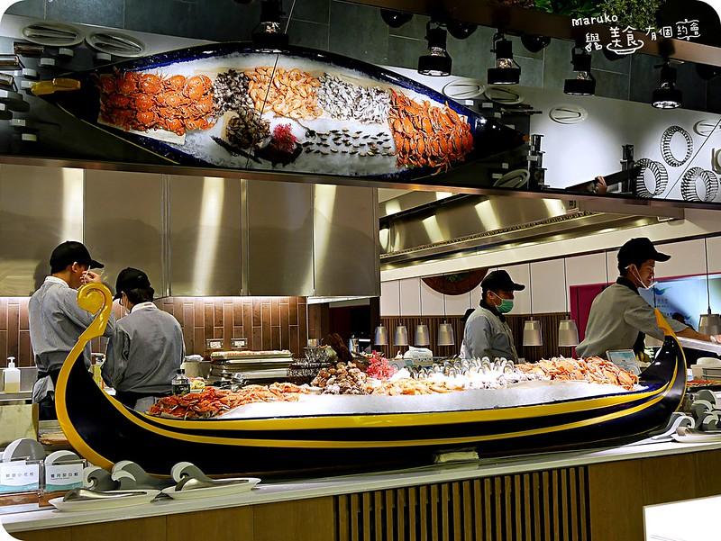 【台北中山】饗食天堂|大直全新開幕超大海鮮船超強buffet @Maruko與美食有個約會