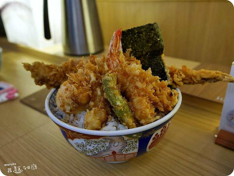 【台北】金子半之助|來自東京人氣天丼專門店,微風台北車站美食 @Maruko與美食有個約會