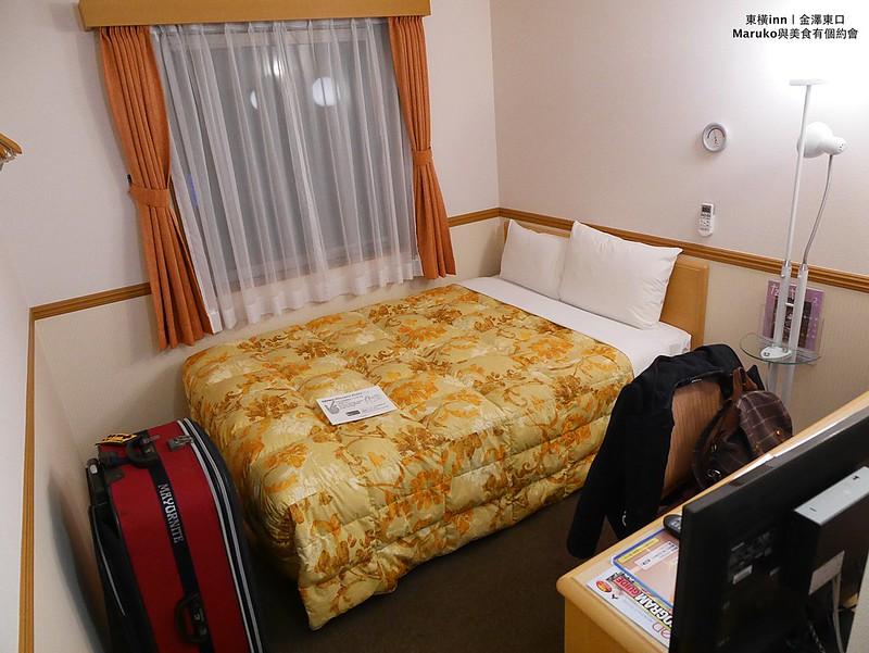 金澤住宿|東橫旅館金澤站東口(東橫inn)|近金澤站離車站步行只需要4分鐘,一旁有24小時餐廳 近便利商店 @Maruko與美食有個約會