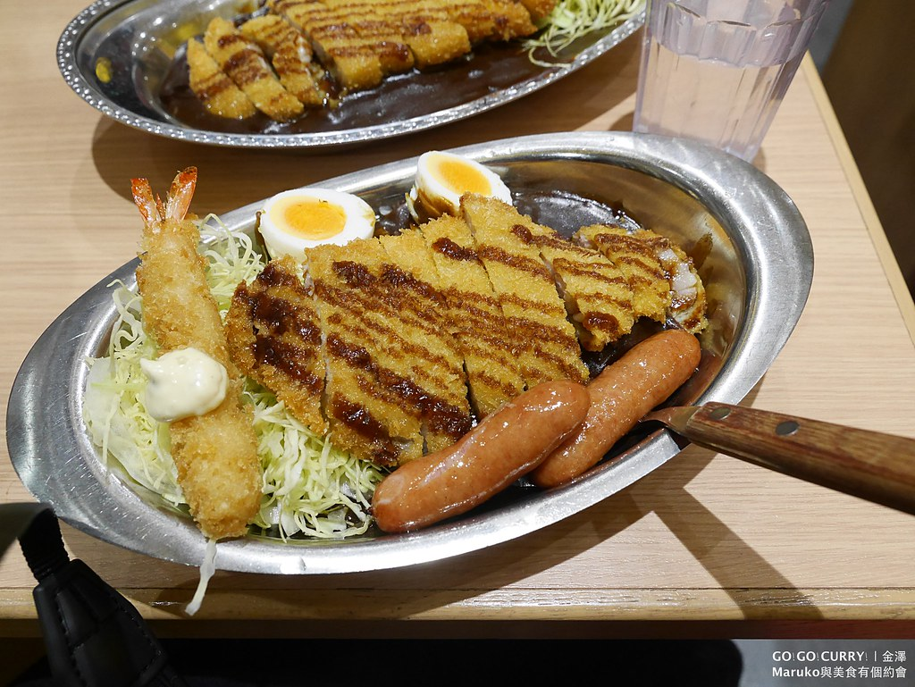 【金澤美食】gogocurry|大猩猩黑嚕嚕辣味咖哩飯越吃越上癮(金澤百番街)