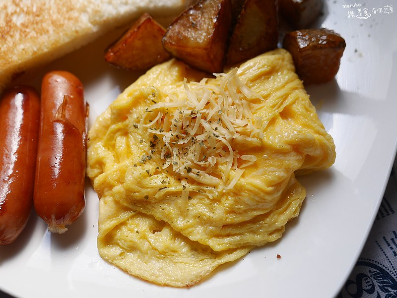 【食譜】美式嫩蛋|美式餐廳熱門早午餐週末下廚的早餐時光 @Maruko與美食有個約會