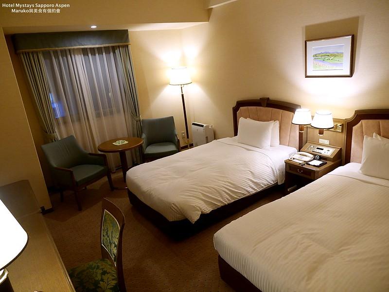 【札幌飯店住宿】Hotel Mystays Sapporo Aspen|入住札幌站北口交通方便大廳有禮品店的飯店(近北海道大學) @Maruko與美食有個約會