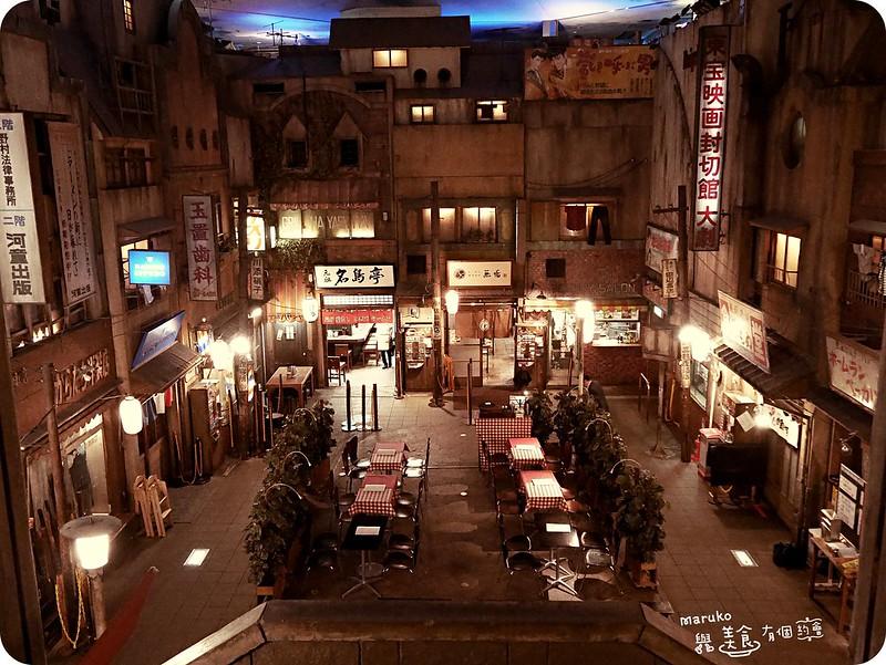 橫濱景點|新橫濱拉麵博物館|懷舊昭和時代集合八家拉麵橫町 @Maruko與美食有個約會