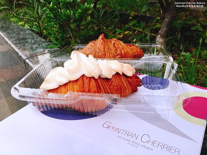 【Gontran Cherrier Bakery SOGO復興|台北大安美食】秒殺雲朵可頌期間限定香酥可頌酸甜好滋味,東區美食,忠孝復興捷運站週邊 @Maruko與美食有個約會