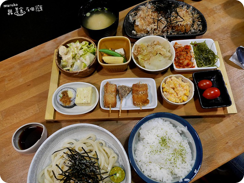 【新北永和】日初食事|百元套餐定食小菜好吸睛 @Maruko與美食有個約會