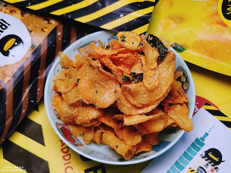 【台北美食】IRVINS鹹蛋黃魚皮(台北101)|新加坡熱門伴手禮台灣也買的到(信義區商圈美食) @Maruko與美食有個約會