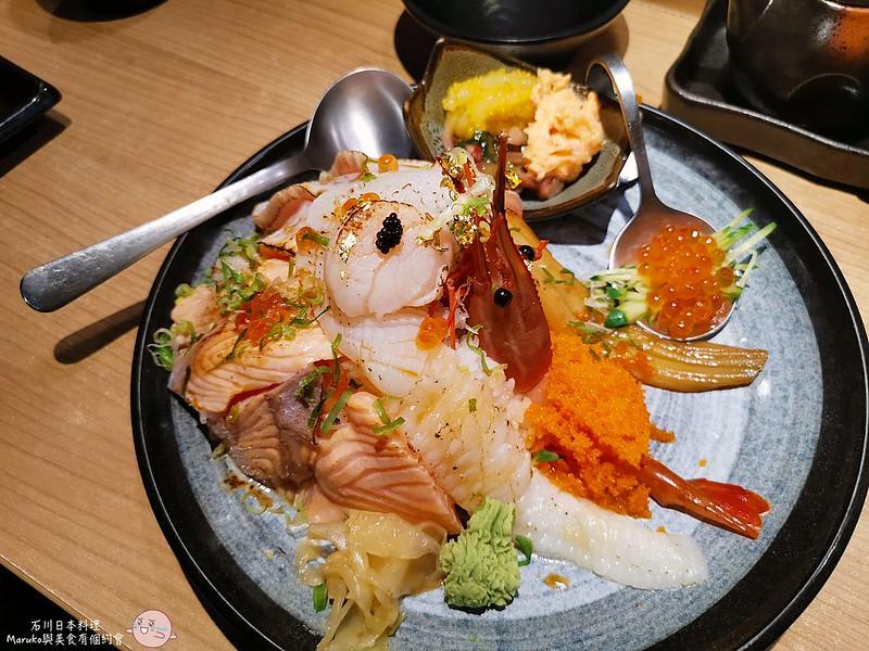 【景美美食】石川日式食堂|景美夜市旁有生魚丼飯的超級人氣日式料理餐廳 @Maruko與美食有個約會