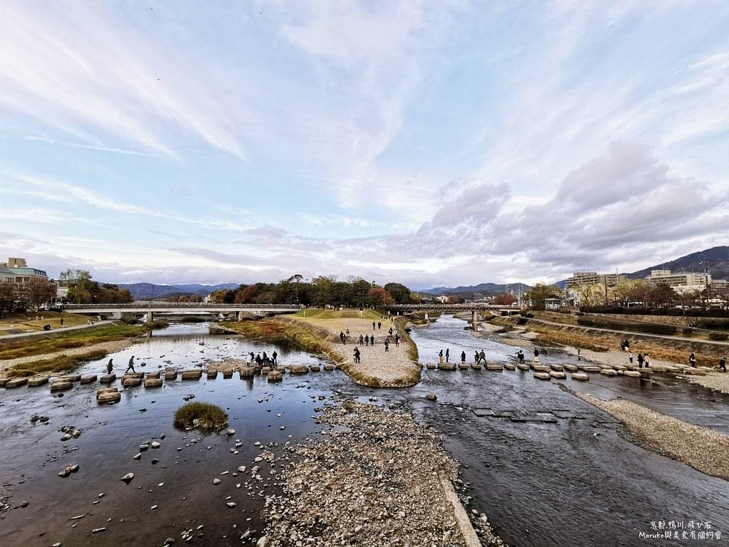 【京都出町柳站】鴨川跳烏龜石|搭叡山電車前必經的無料景點有趣又好玩 @Maruko與美食有個約會