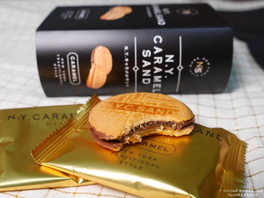 【東京購物】N.Y.C.SAND|巧克力焦糖夾心餅風靡東京的熱門伴手禮 @Maruko與美食有個約會