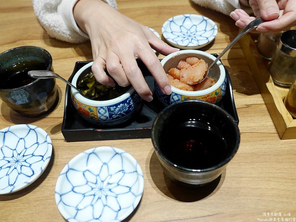 【台北美食】博多天麩羅山海|來自九州的天婦羅丼飯明太子吃到飽餐廳 @Maruko與美食有個約會