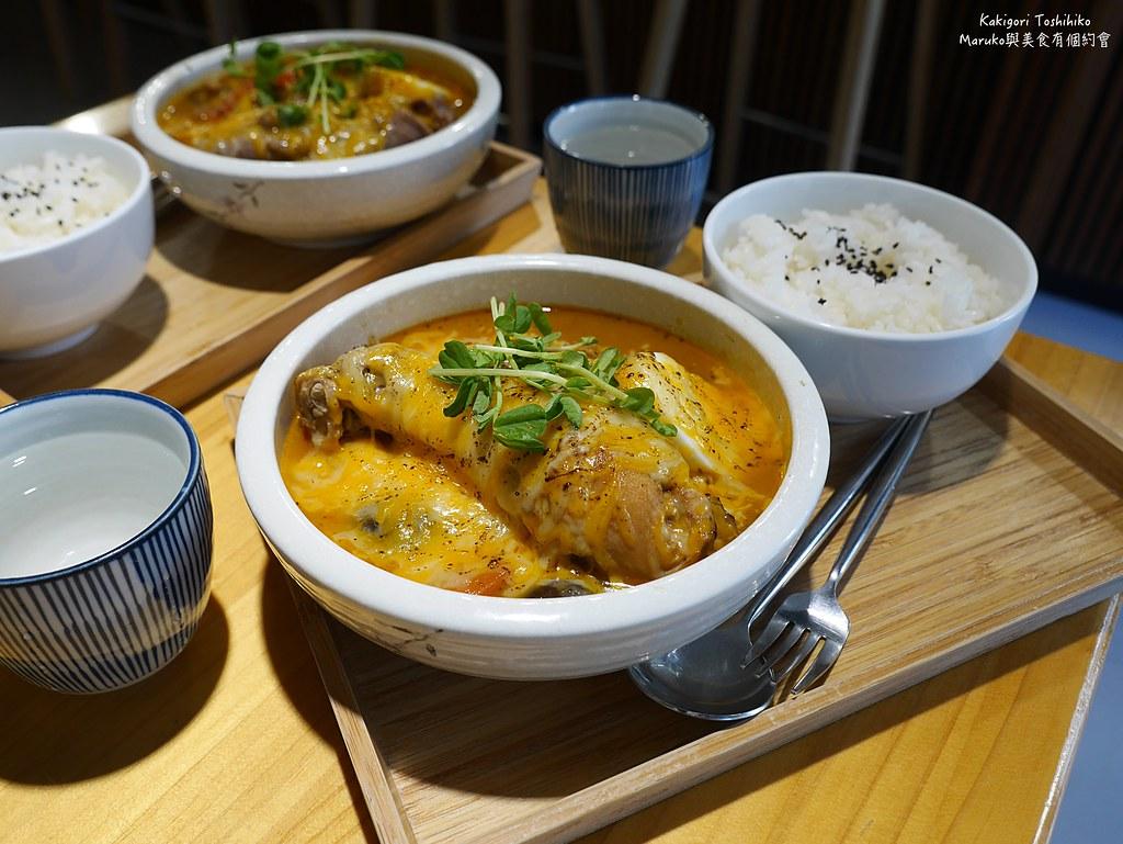 【台北美食】Kakigori Toshihiko|日本冰專賣店也有讓人回味的湯咖哩 @Maruko與美食有個約會