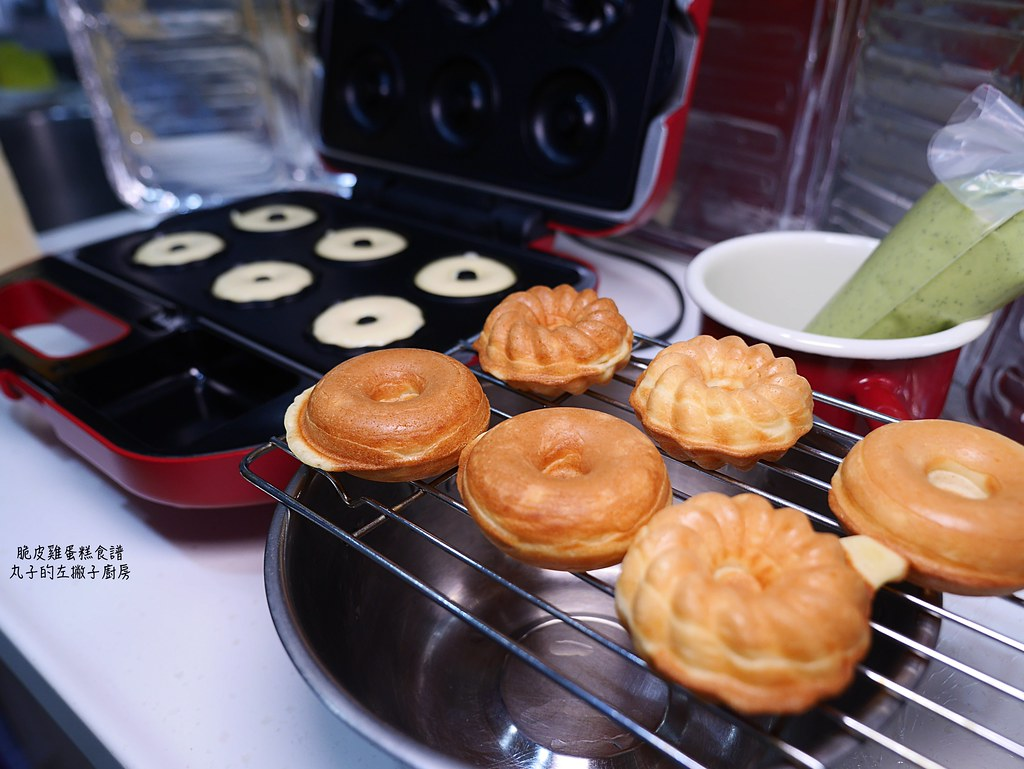【食譜】脆皮雞蛋糕|鬆餅機做法四分鐘就能完成 @Maruko與美食有個約會