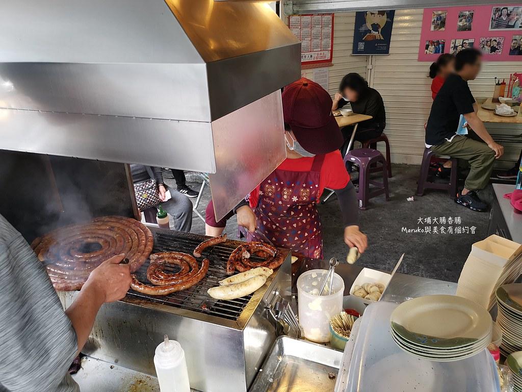 【屏東美食】大埔大腸香腸|用木炭燒烤的在地好滋味屏東人最愛小吃路邊攤 @Maruko與美食有個約會
